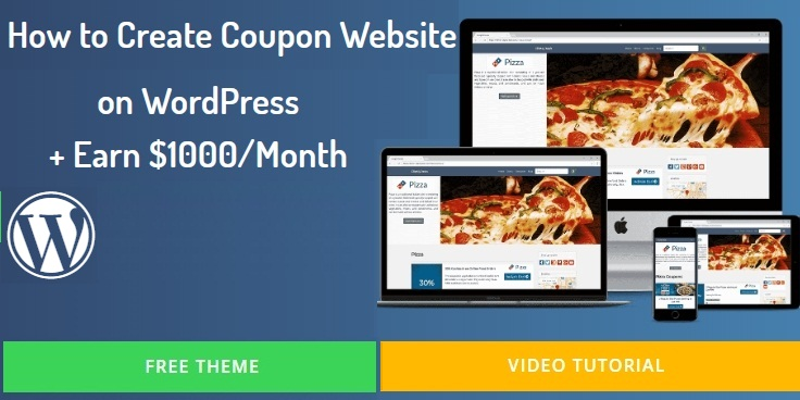 How to create coupon website in WordPress(Start coupon site,Earn $1000)