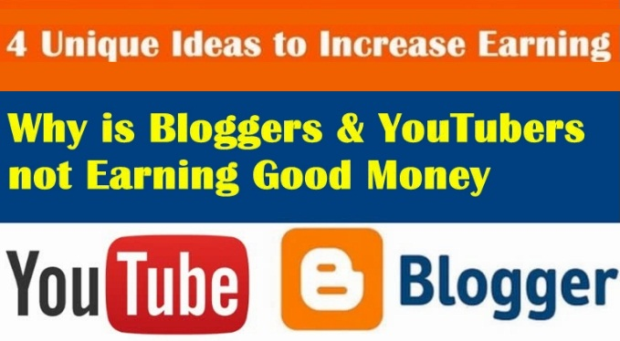 How to increase Youtube & Blogging Earning