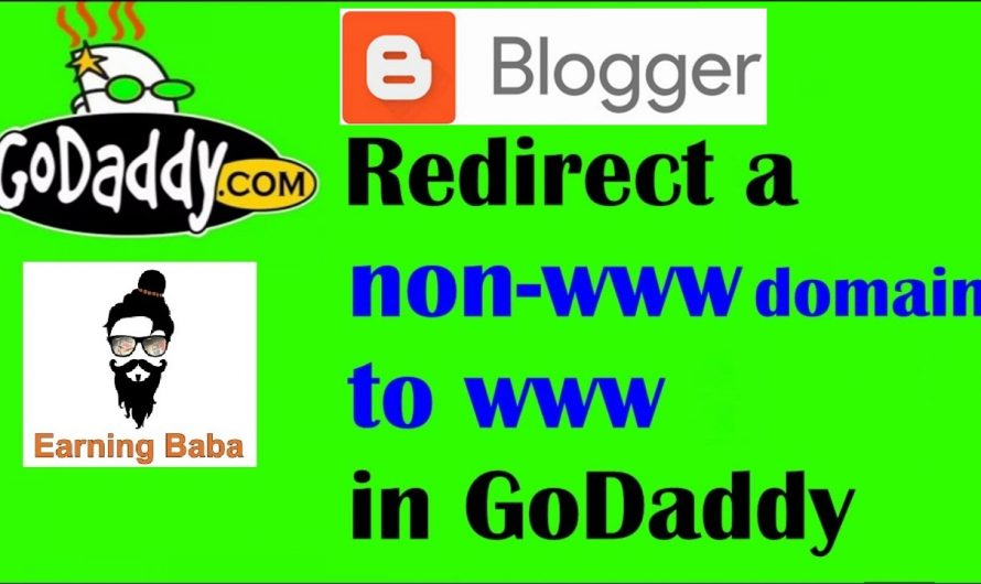 How to redirect non www to www in godaddy (Solved forward non-www to www)